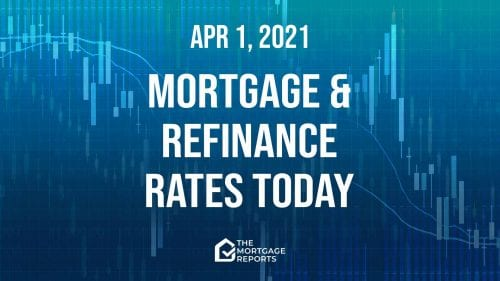 Mortgage and refinance rates today, April 1, 2021